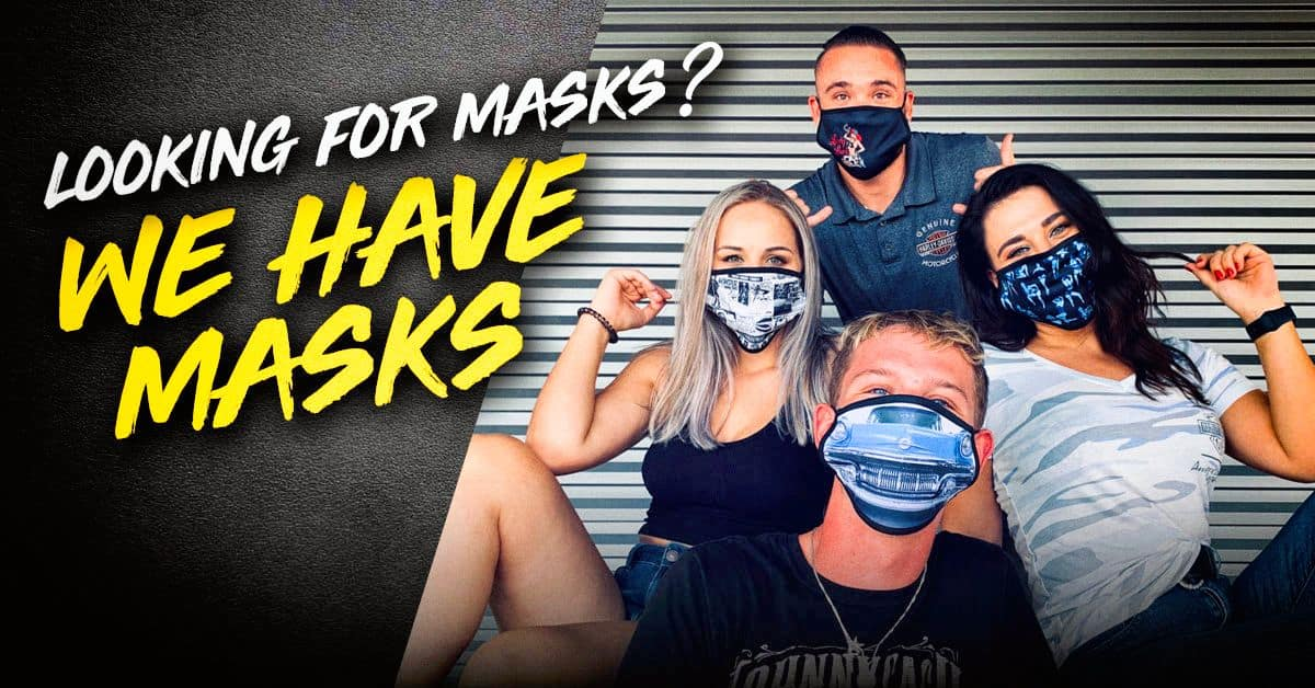 Looking for masks?