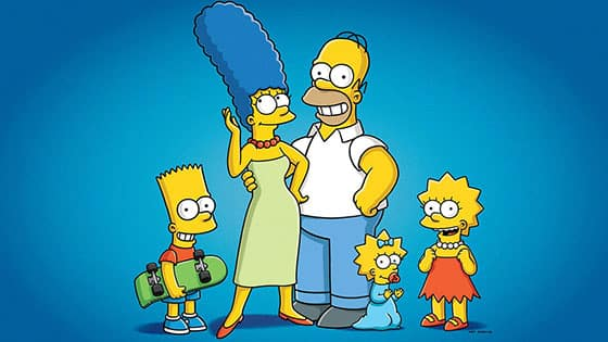 Where to watch the Simpsons online?
