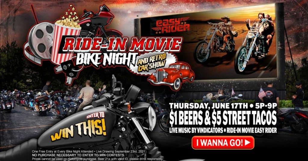 Ride-In Movie Bike Night