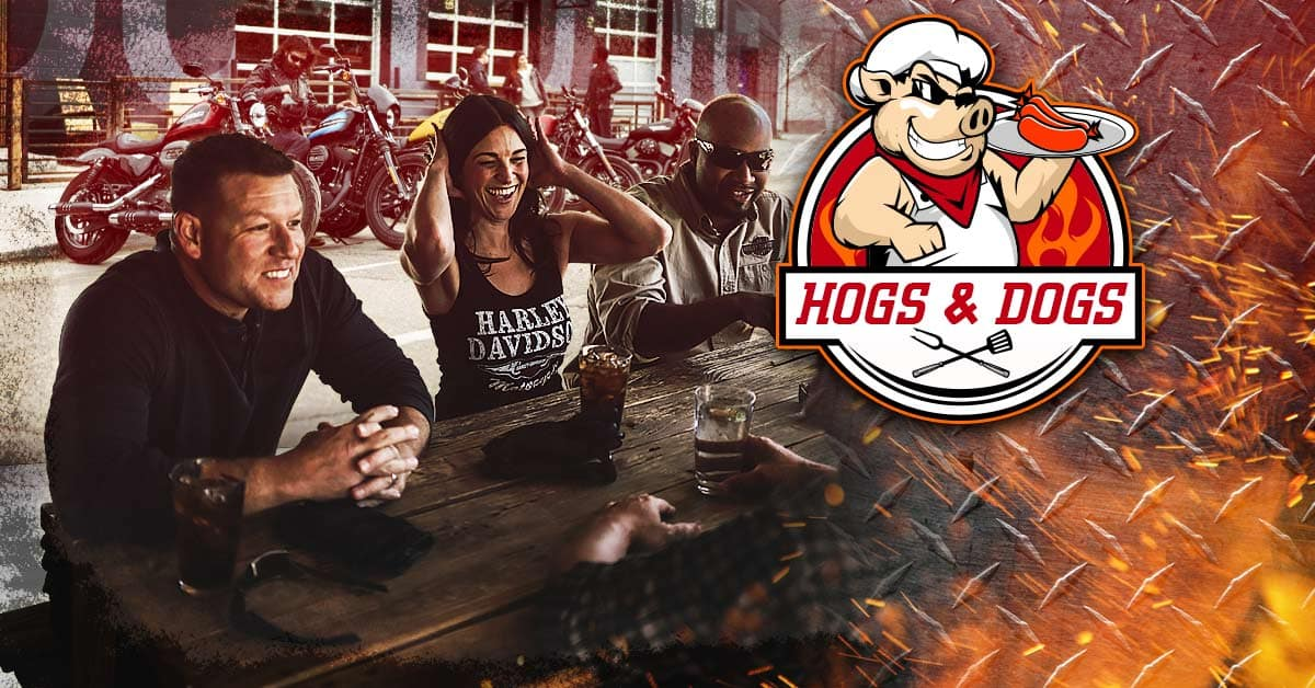 Hogs N Dogs - Free Chili Dogs, Chips, & Beer