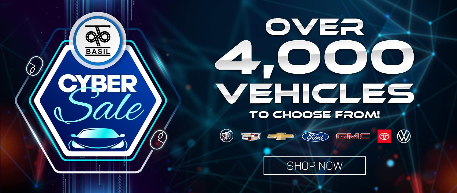 Cyber Sale GM Sites