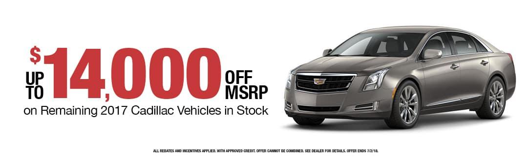 BD_3968_ART June Buick GMC Cadillac DI Incentive Web Slides_1083x332_14,000 Off MSRP_01