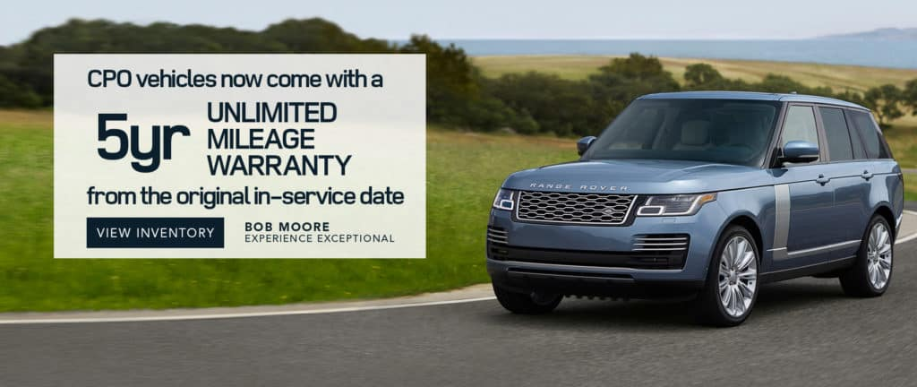 5-Year Unlimited Mileage Warranty on all Certified Pre-Owned Vehicles