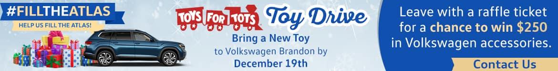 #FILLTHEATLAS toy drive in Tampa, FL