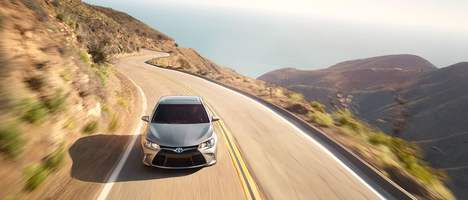 2016 Toyota Camry mountains