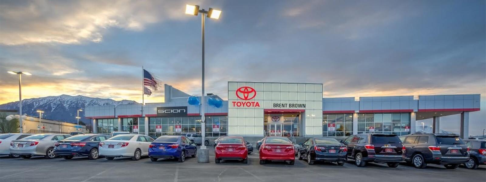 Brent Brown Toyota Dealership