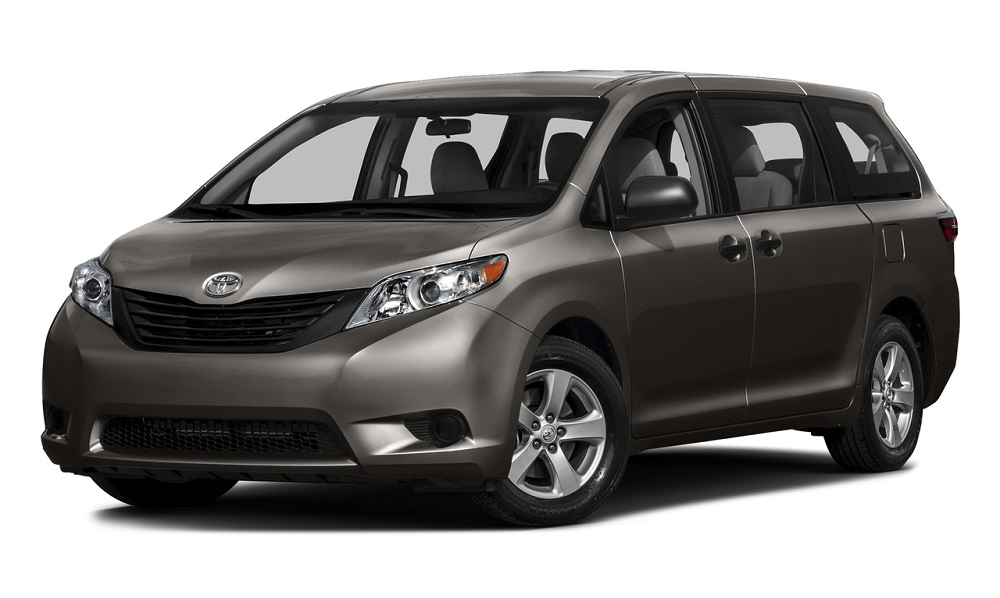 2017 Toyota Sienna Gray