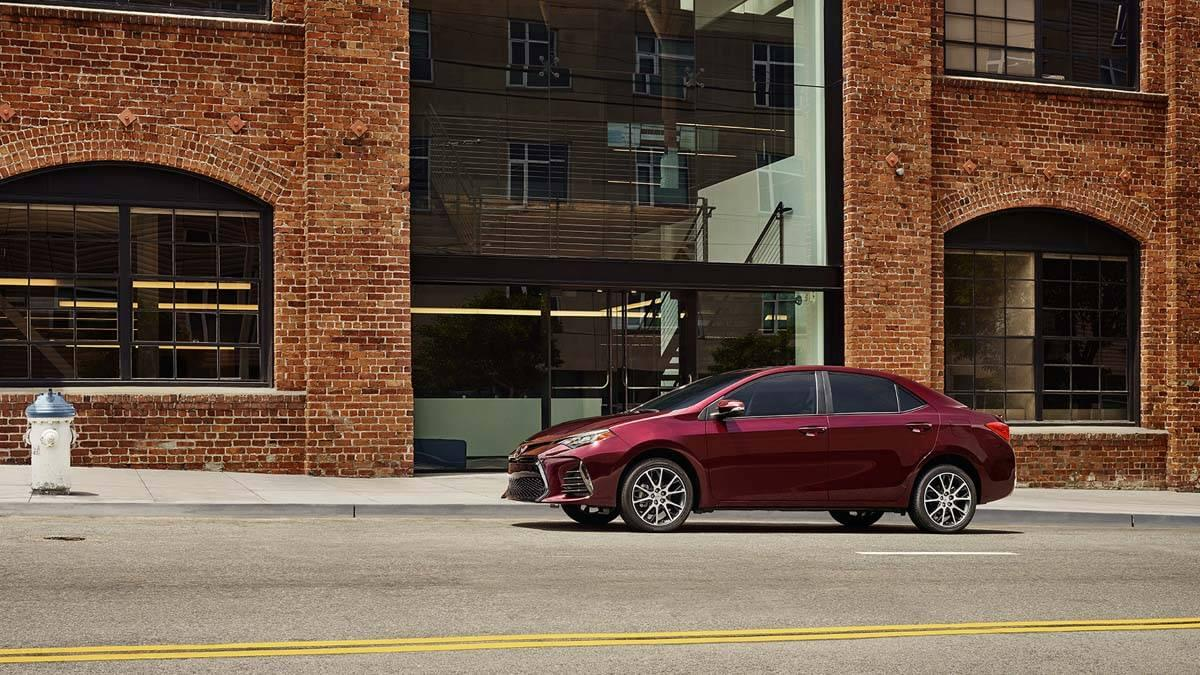 50th Anniversary Corolla Black Cherry Pearl