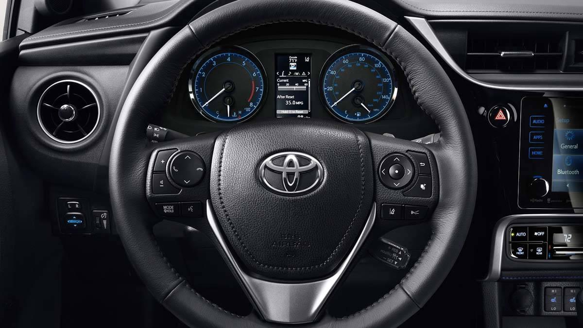 Toyota Corolla Premium Package Steering Wheel