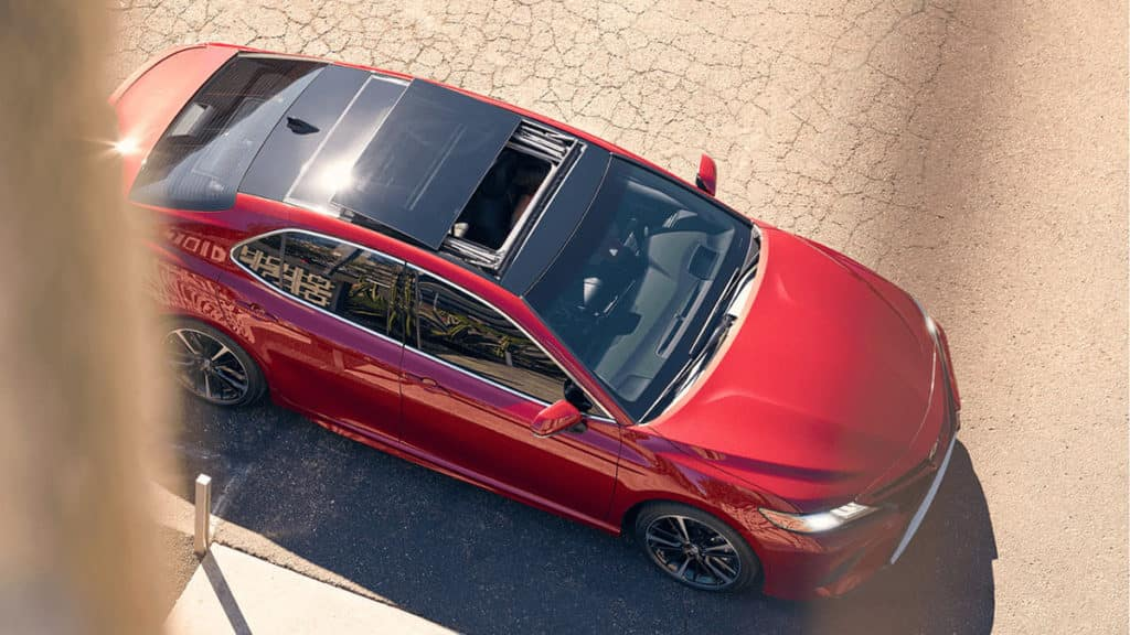 2018 Toyota Camry with panoramic roof