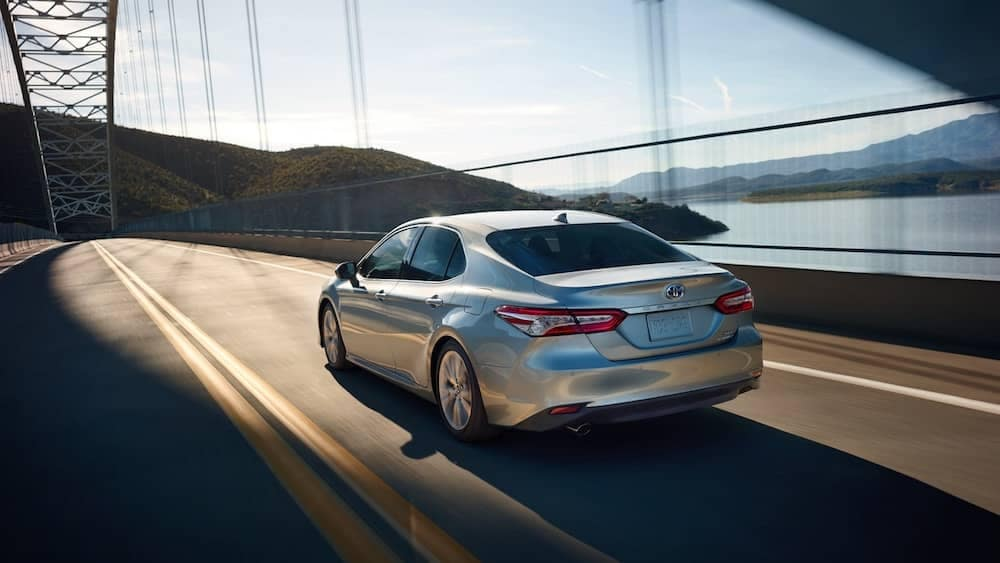 2019 Toyota Camry rear view
