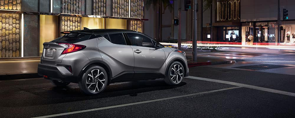 2019 Toyota C-HR City Streets