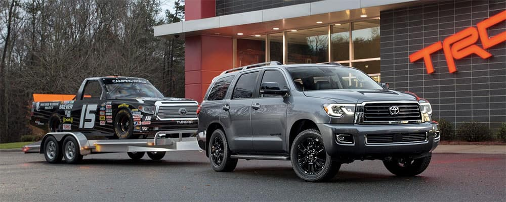 2019 Toyota Sequoia towing
