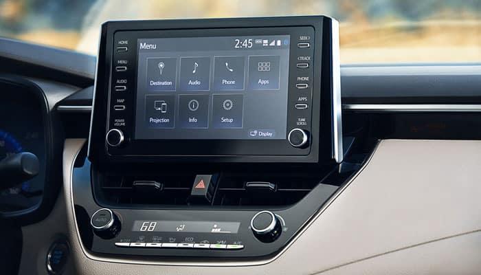 2020 Toyota Corolla Screen