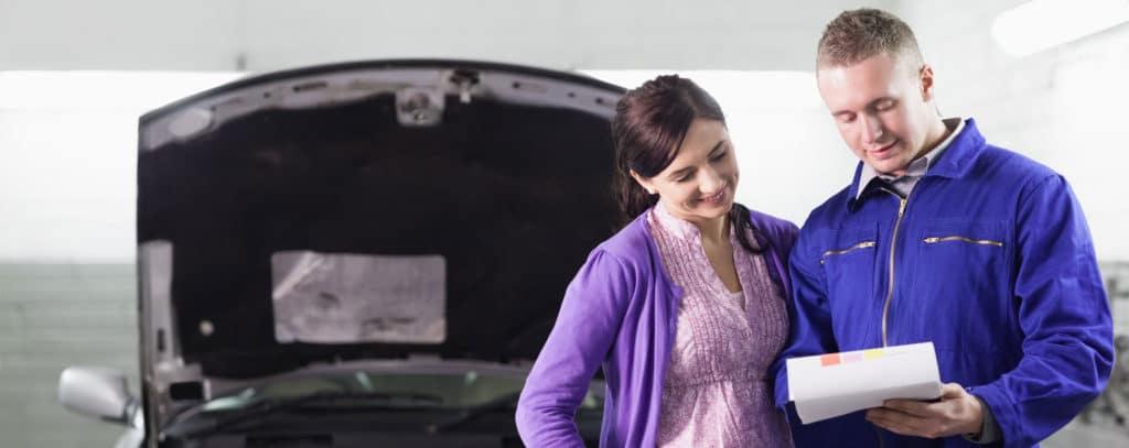 car maintenance header