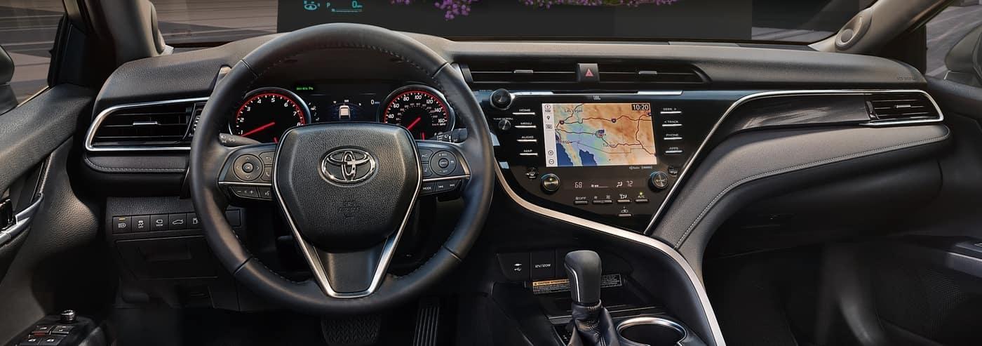 2020 Toyota Dashboard