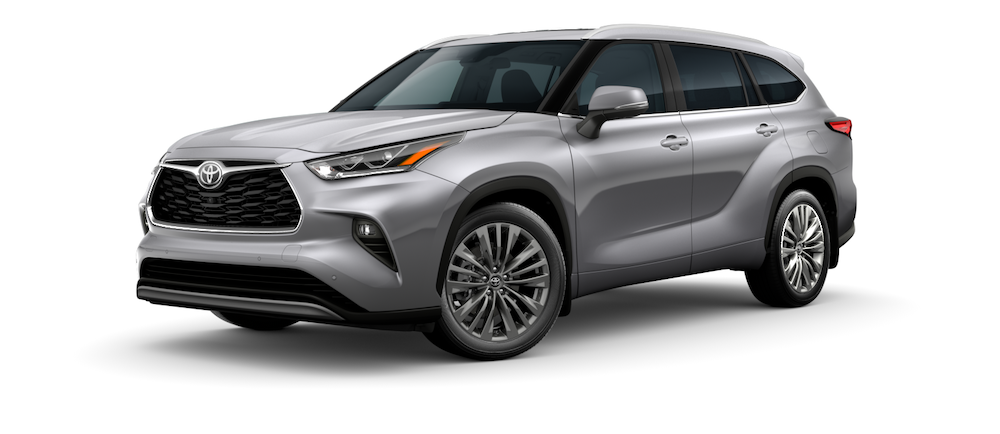 2020 Toyota Highlander Colors Interior And Exterior Color Options
