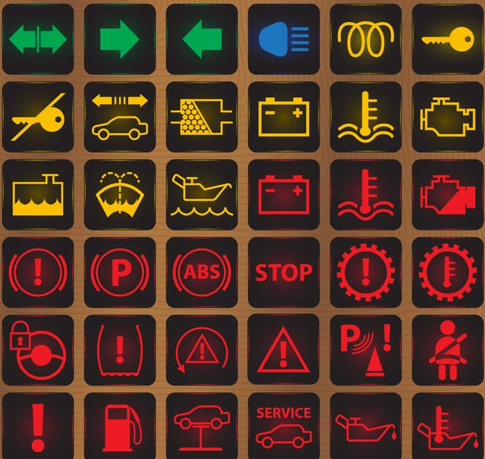 warning lights
