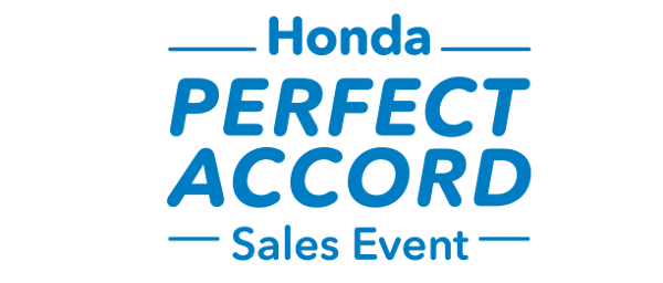 Honda Sales Event: Perfect Accord