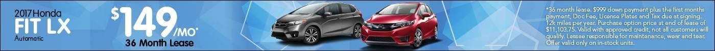 Lease Honda Fit LX $149