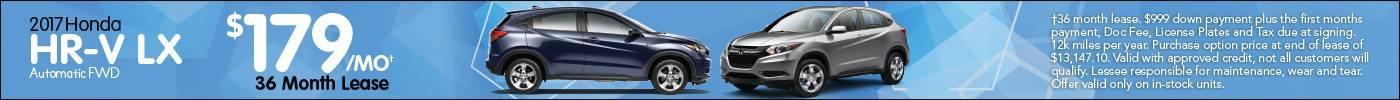 Lease Honda HR-V LX $179