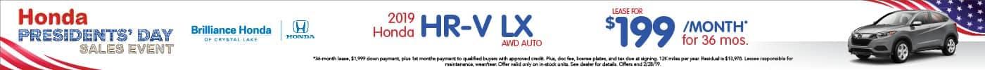 HR-V Lease $199/mo