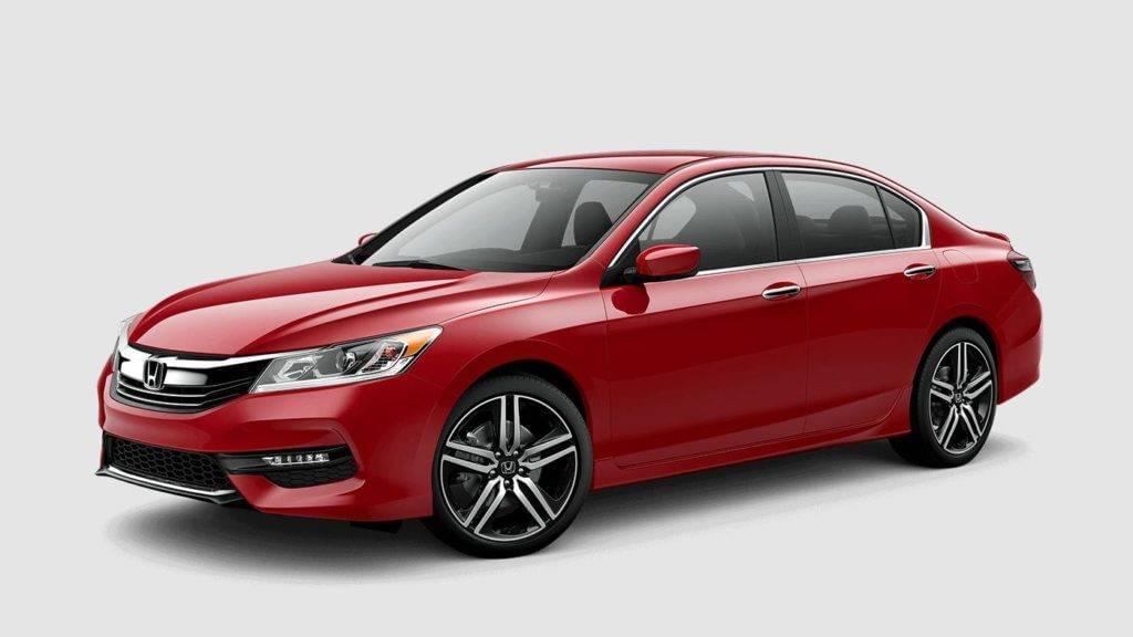 2017 Honda Accord San Marino Red