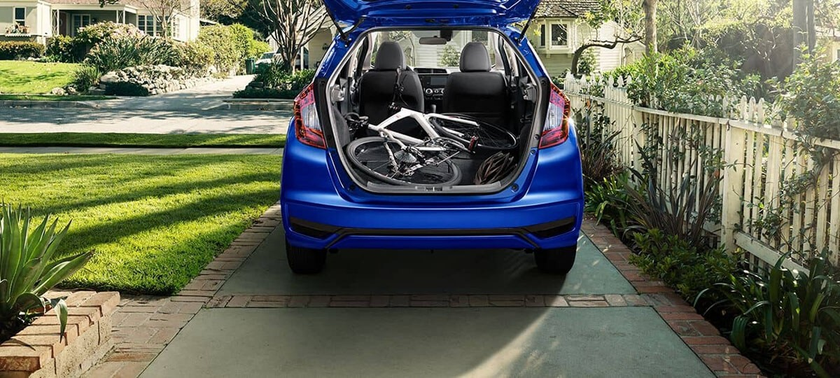 2018 Honda Fit trunk