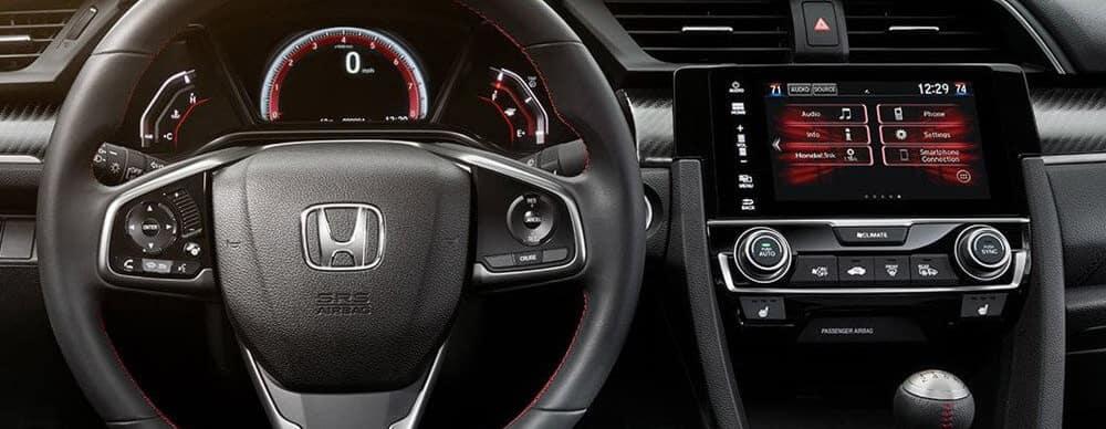 2017 Honda Civic SI Sedan Interior