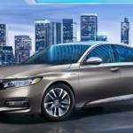 Honda Accord Blue Backdrop