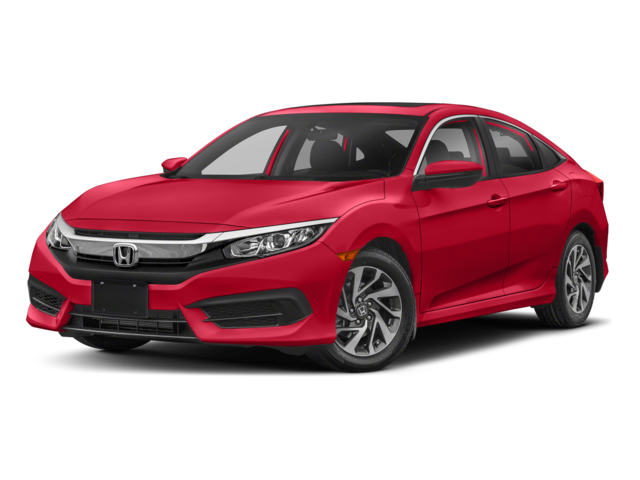 2018 Honda Civic Red