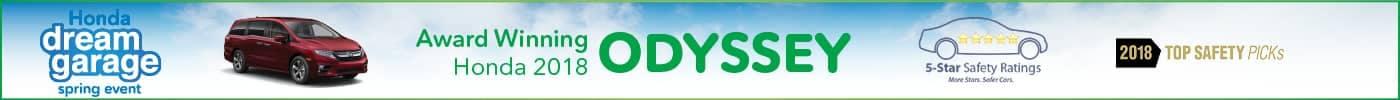 award winning honda odyssey