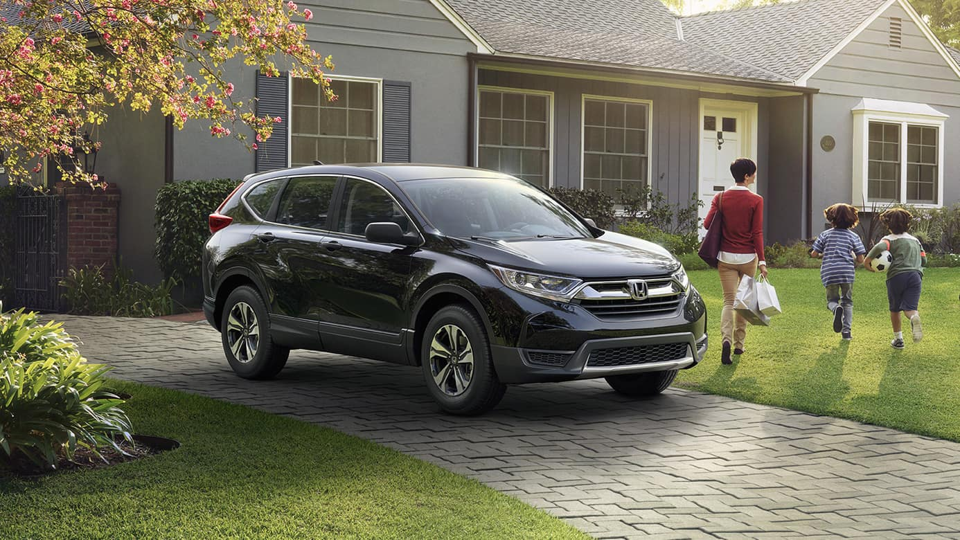 2018 Honda CR-V Outside Family Home
