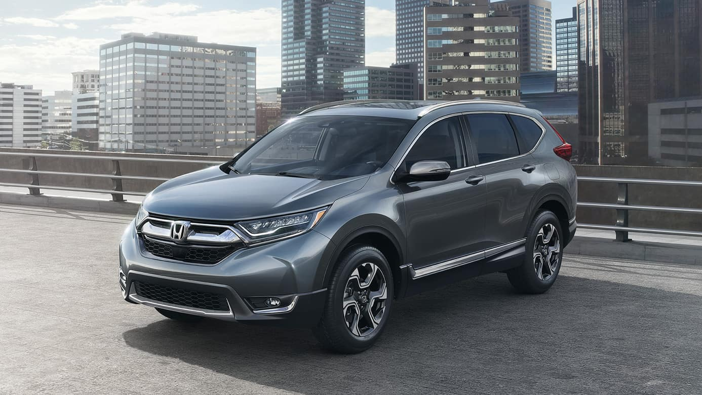 2018 Honda CR-V on parking deck