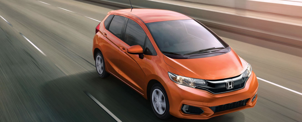 2019 Honda Fit in Bright Orange
