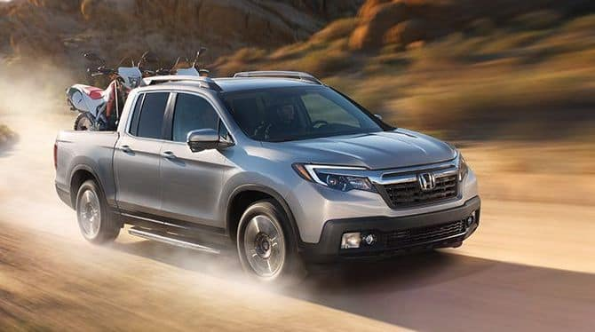 2019 Honda Ridgeline Desert Driving