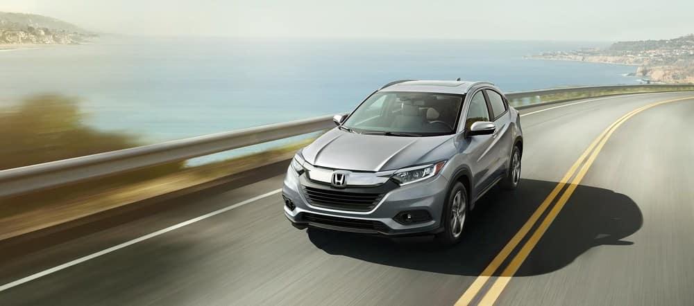 2019 Honda HR-V Silver Driving