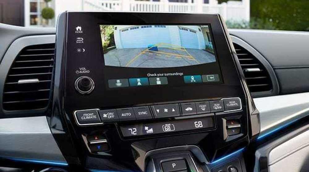 2019 Honda Odyssey Backup Camera