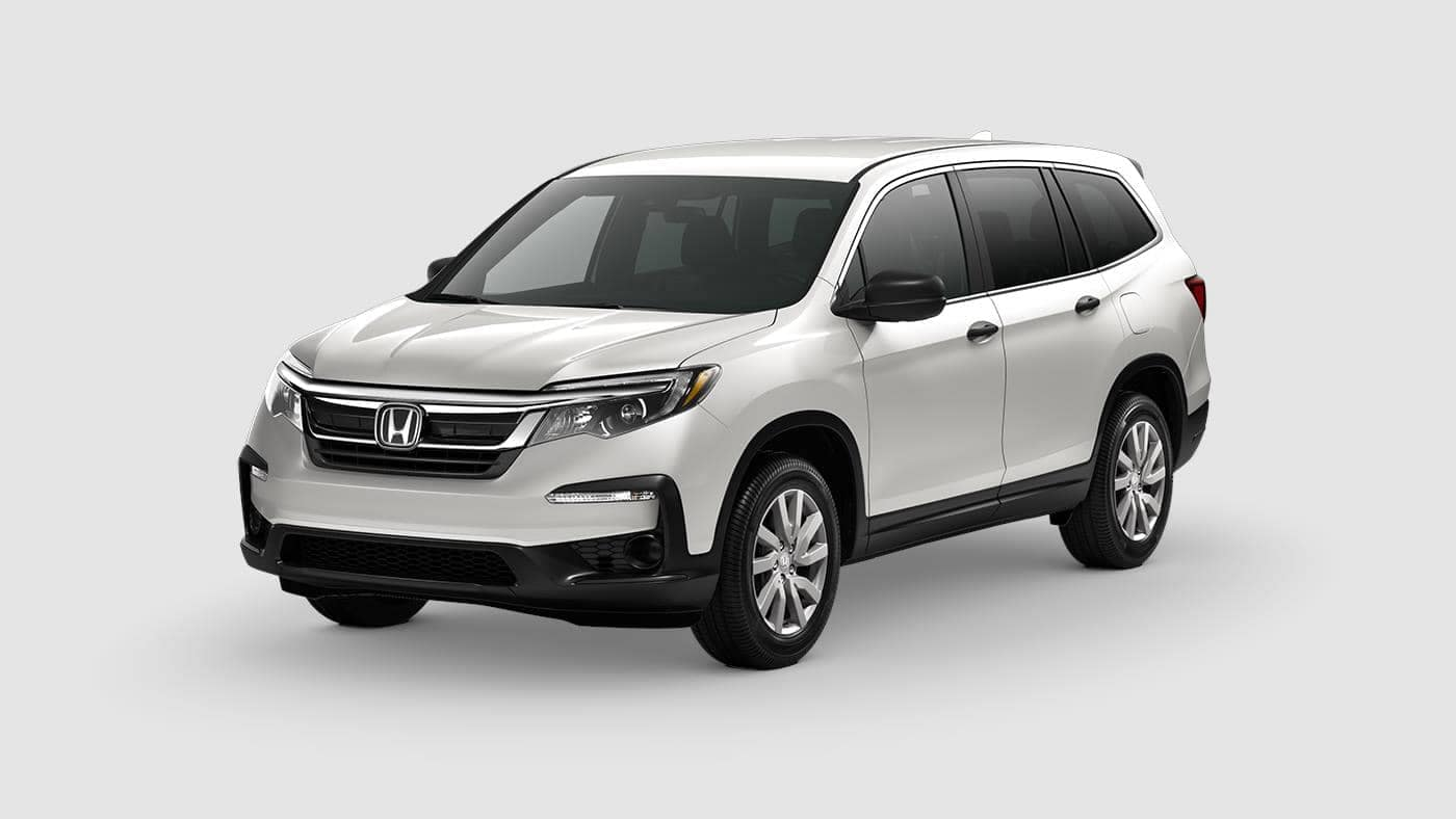 White Diamond 2019 Honda Pilot