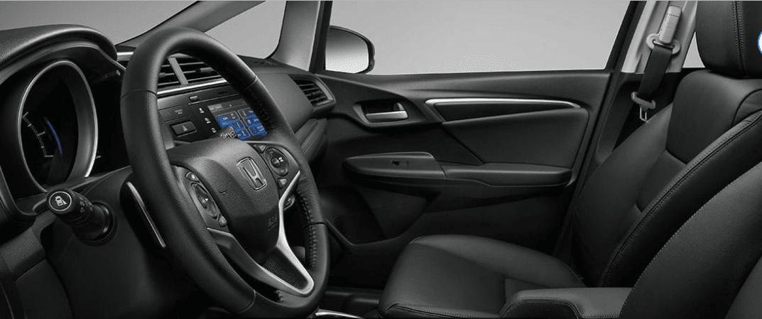 2019 Honda Fit Interior in Black