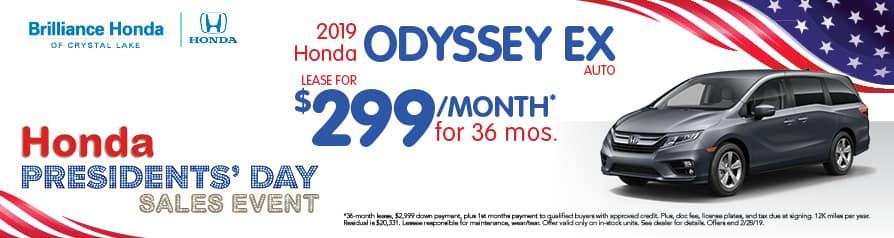 Odyssey EX for $299