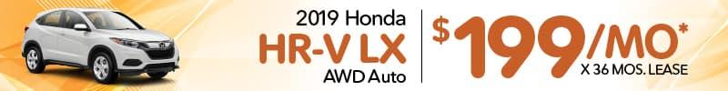 honda HR-V lease