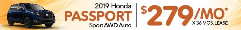 Honda passport lease
