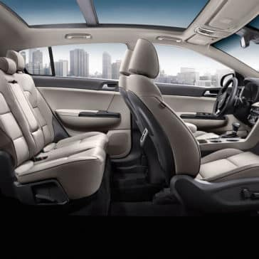 2018 Kia Sportage Seating