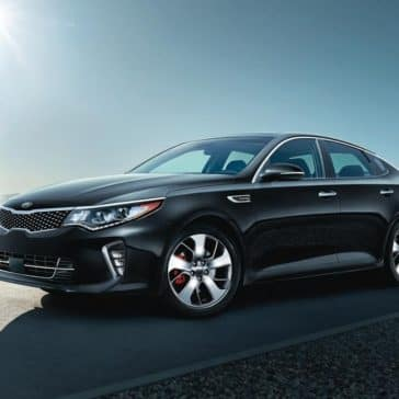 2018 Kia Optima Parked