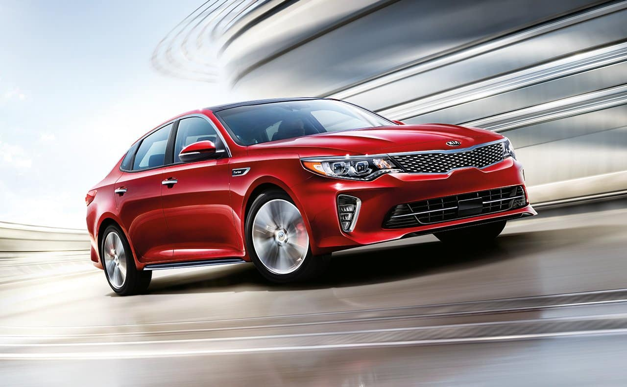 2018 Kia Optima Red