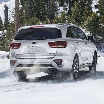 2019 Kia Sorento In Snow