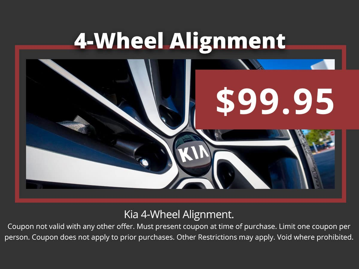 Kia Wheel Alignment Special