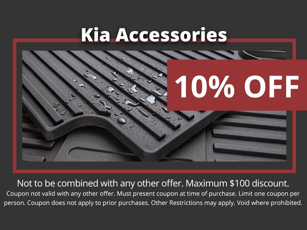 Kia All-Weather Floor Mats