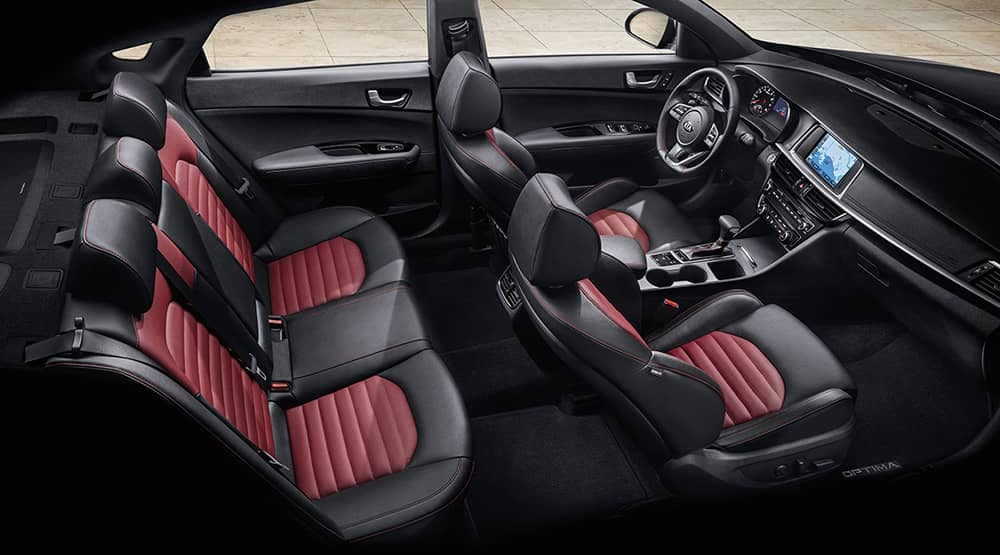 2019 Kia Optima Seating